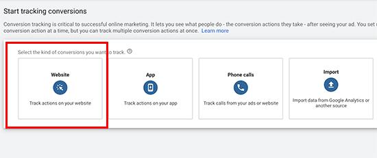 Suivez les conversions dans Google Ads